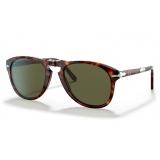Persol - 714 Steve McQueen - Original - Havana / Polarizzata Verde - 0PO0714SM--24-P1 - Occhiali da Sole - Persol Eyewear