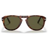 Persol - 714 Steve McQueen - Original - Havana / Polarized Green - 0PO0714SM - 24-P1 - Sunglasses - Persol Eyewear