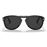 Persol - 714 Steve McQueen - Original - Black / Polarized Dark Black - PO0714SM 95 48 54-21 - Sunglasses - Persol Eyewear