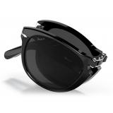 Persol - 714 Steve McQueen - Original - Nero / Polarizzata Nero Scuro - PO0714SM 95 48 54-21 - Occhiali da Sole - Persol Eyewear