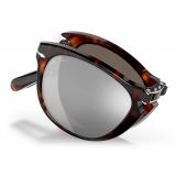 Persol - 714 Steve McQueen - Original - Havana / Platinum Plated - PO0714SM 24 AP 54-21 - Sunglasses - Persol Eyewear