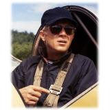 Persol - 714 Steve McQueen - Original - Havana / 24k Placcata Oro - PO0714SM 24/AM 54-21 - Occhiali da Sole - Persol Eyewear