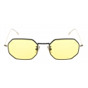 David Marc - G017 BKG SUN YELLOW PHOTOCROMIC - Sunglasses - Handmade in Italy - David Marc Eyewear