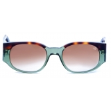 David Marc - JACQUELINE 238 - GREEN - Sunglasses - Handmade in Italy - David Marc Eyewear