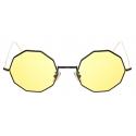 David Marc - G019 BKG SUN YELLOW PHOTOCROMIC - Occhiali da Sole - Handmade in Italy - David Marc Eyewear