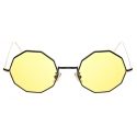 David Marc - G019 BKG SUN YELLOW PHOTOCROMIC  - Sunglasses - Handmade in Italy - David Marc Eyewear