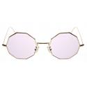 David Marc -G019 G SUN PINK PHOTOCROMIC - Sunglasses - Handmade in Italy - David Marc Eyewear