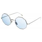 David Marc - G019 R SUN BLU PHOTOCROMIC - Sunglasses - Handmade in Italy - David Marc Eyewear