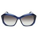 David Marc - R12 BL - Occhiali da Sole - Handmade in Italy - David Marc Eyewear