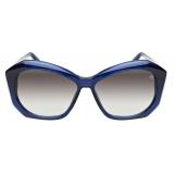 David Marc - R12 BL - Sunglasses - Handmade in Italy - David Marc Eyewear