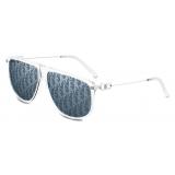 Dior - Sunglasses - CD Link S2U - Crystal Silver Blue - Dior Eyewear