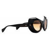 Gucci - Cat-Eye Sunglasses - Black Orange - Gucci Eyewear