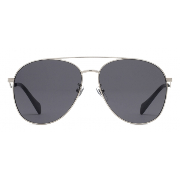 Gucci - Aviator Sunglasses - Silver Gray - Gucci Eyewear