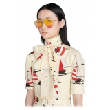 Gucci - Aviator Sunglasses - Gold Yellow - Gucci Eyewear