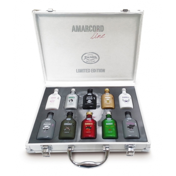 Zanin 1895 - Amarcord - Pack 10 Senses Box - Cordiale - Liqueur - Spirit of Excellence