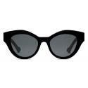 Gucci - Cat-Eye Sunglasses - Black Gray - Gucci Eyewear