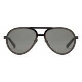 Gucci - Aviator Sunglasses - Ruthenium Gray - Gucci Eyewear