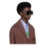 Gucci - Square Sunglasses - Black Brown - Gucci Eyewear