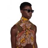 Gucci - Rectangular Sunglasses - Grey - Gucci Eyewear