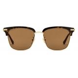 Gucci - Square Sunglasses - Tortoiseshell Brown - Gucci Eyewear