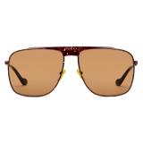 Gucci - Aviator Sunglasses - Tortoiseshell Brown - Gucci Eyewear