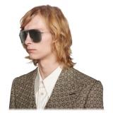 Gucci - Aviator Sunglasses - Ruthenium Grey - Gucci Eyewear