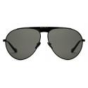 Gucci - Aviator Sunglasses - Black Gray - Gucci Eyewear