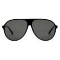 Gucci - Specialized Fit Aviator Sunglasses - Black Gray - Gucci Eyewear