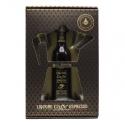 Zanin 1895 - Golmar - Espresso Coffee Liquor + 4 Glasses - Made in Italy - 20 % vol. - Spirit of Excellence
