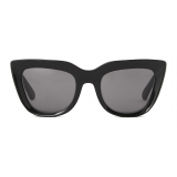 Stella McCartney - Cat-Eye Sunglasses - Shiny Black - Sunglasses - Stella McCartney Eyewear