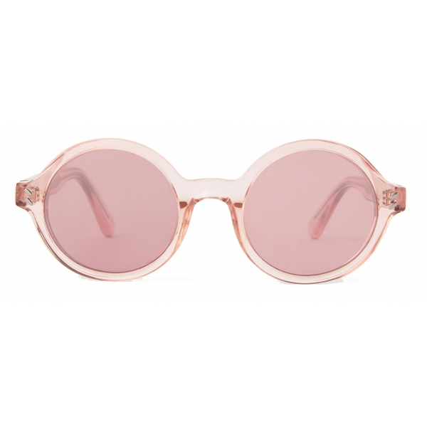 Stella McCartney - Occhiali da Sole Rotondi - Rosa Cristallo - Occhiali da Sole - Stella McCartney Eyewear