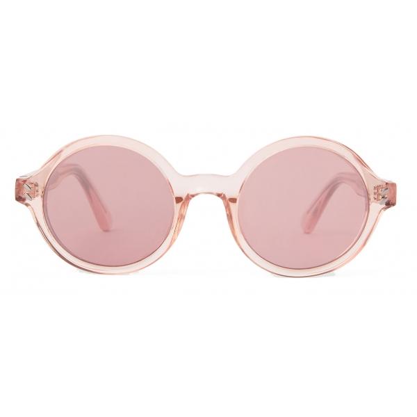 Stella McCartney - Round Sunglasses - Crystal Pink - Sunglasses - Stella McCartney Eyewear