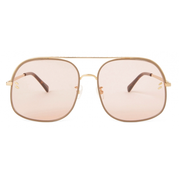 Stella McCartney - Occhiali da Sole Quadrati - Endura Lucido - Occhiali da Sole - Stella McCartney Eyewear