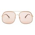 Stella McCartney - Square Sunglasses - Shiny Endura - Sunglasses - Stella McCartney Eyewear