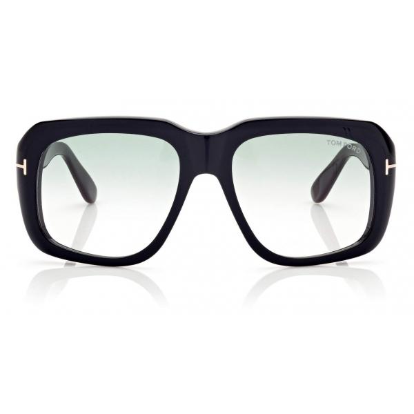 Tom Ford - Bailey Sunglasses Quadrati - Nero Lucido - FT0885 - Occhiali da Sole - Tom Ford Eyewear