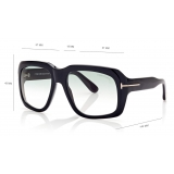 Tom Ford - Bailey Sunglasses - Square Sunglasses - Shiny Black - FT0885 - Sunglasses - Tom Ford Eyewear