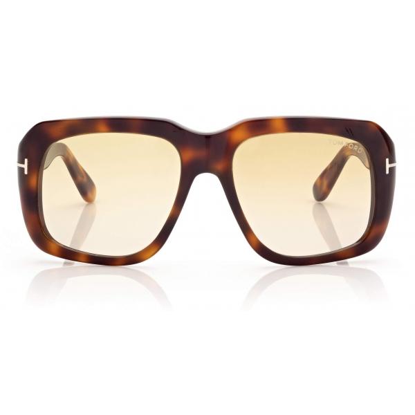 Tom Ford - Bailey Sunglasses Quadrati - Tartaruga - FT0885 - Occhiali da Sole - Tom Ford Eyewear