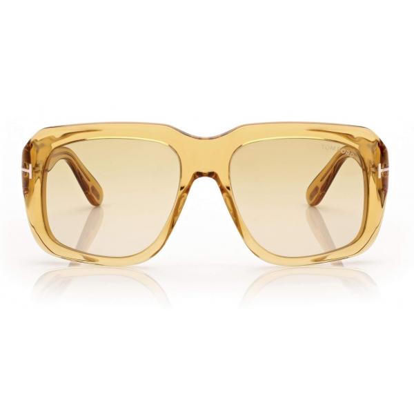 Tom Ford - Bailey Sunglasses - Square Sunglasses - Shiny Yellow - FT0885 - Sunglasses - Tom Ford Eyewear
