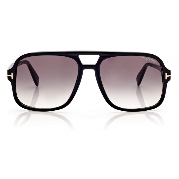 Tom Ford - Falconer Sunglasses Pilota - Nero - FT0884 - Occhiali da Sole - Tom Ford Eyewear