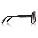 Tom Ford - Falconer Sunglasses - Pilot Sunglasses - Black - FT0884 - Sunglasses - Tom Ford Eyewear