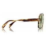 Tom Ford - Falconer Sunglasses - Pilot Sunglasses - Dark Havana- FT0884 - Sunglasses - Tom Ford Eyewear