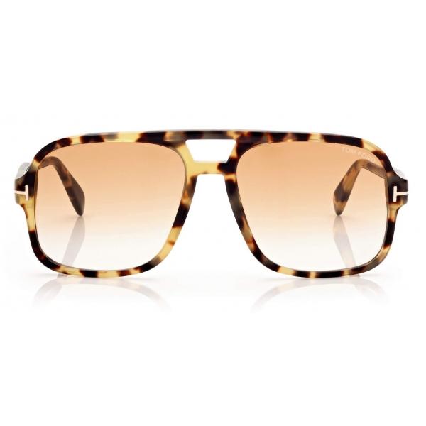 Tom Ford - Falconer Sunglasses Pilota - Havana - FT0884 - Occhiali da Sole - Tom Ford Eyewear