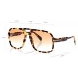 Tom Ford - Falconer Sunglasses - Pilot Sunglasses - Havana- FT0884 - Sunglasses - Tom Ford Eyewear