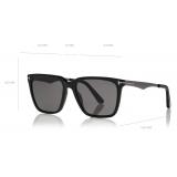 Tom Ford - Garrett Sunglasses - Square Sunglasses - Black - FT0862 - Sunglasses - Tom Ford Eyewear