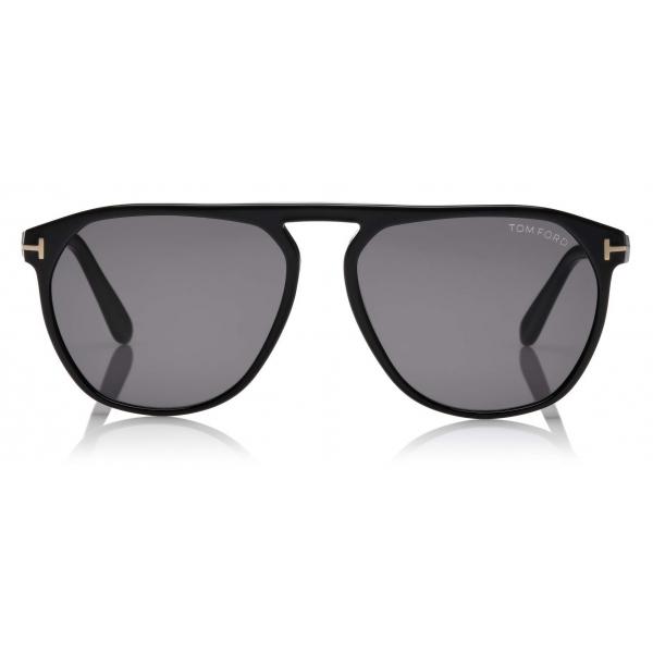 Tom Ford - Jasper Sunglasses - Occhiali da Sole Quadrati - Nero - FT0835 - Occhiali da Sole - Tom Ford Eyewear