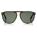 Tom Ford - Jasper Sunglasses - Square Sunglasses - Dark Havana - FT0835 - Sunglasses - Tom Ford Eyewear