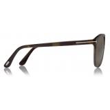 Tom Ford - Jasper Sunglasses - Square Sunglasses - Vintage Havana - FT0835 - Sunglasses - Tom Ford Eyewear