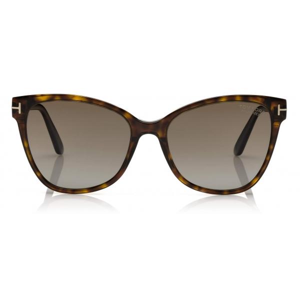 Tom Ford - Ani Sunglasses - Cat-Eye Sunglasses - Dark Havana - FT0844 - Sunglasses - Tom Ford Eyewear