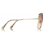 Tom Ford - Reggie Sunglasses - Square Oversized Sunglasses - Rose Gold - FT0838 - Sunglasses - Tom Ford Eyewear
