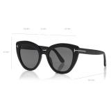 Tom Ford - Izzi Sunglasses - Cat-Eye Sunglasses - Black - FT0845 - Sunglasses - Tom Ford Eyewear